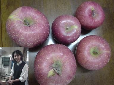 山下さんのりんご