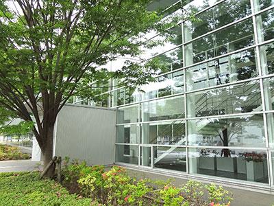 東京大学柏キャンパスの図書室