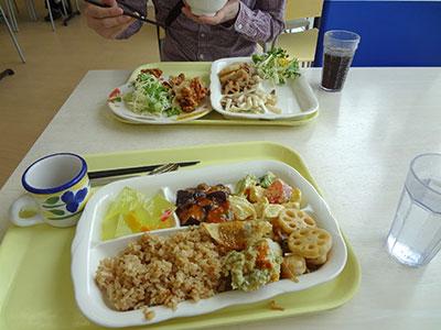 東京大学柏キャンパスのカフェテリア「グラム・デリ」