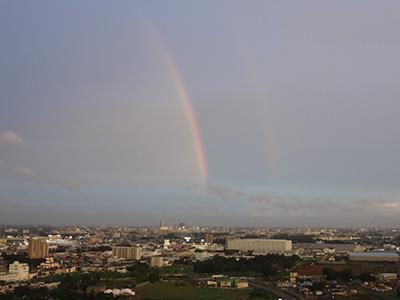 2015年7月18日の虹