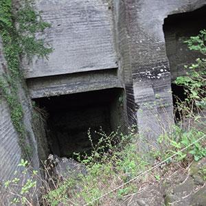 採石場跡地