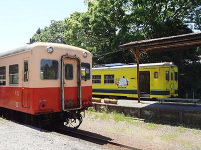 いすみ鉄道と小湊鐵道