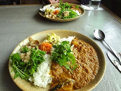 numacafe(ヌマカフェ)の鯖カレー