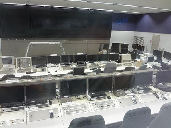 種子島宇宙センター 管制室