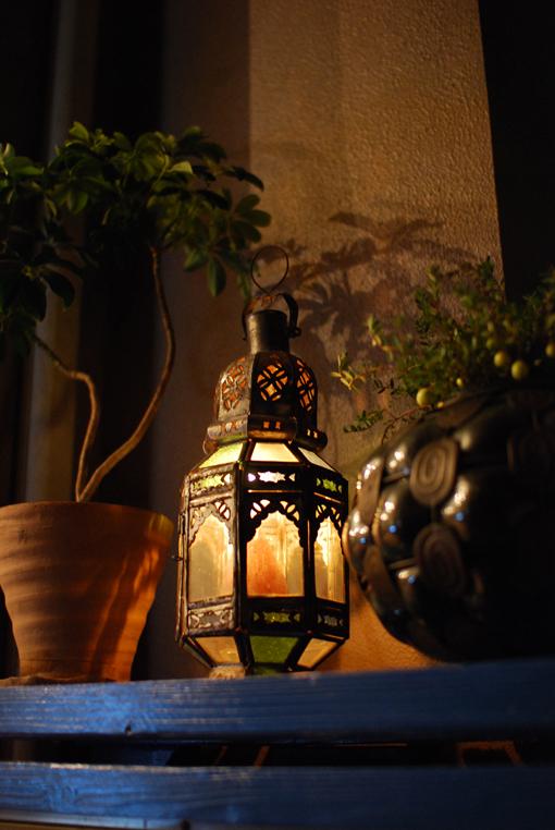 モロッコランプ