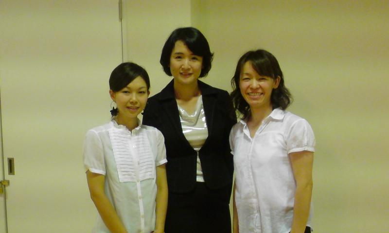 090913セミナーにて、講師濱田智恵子先生と
