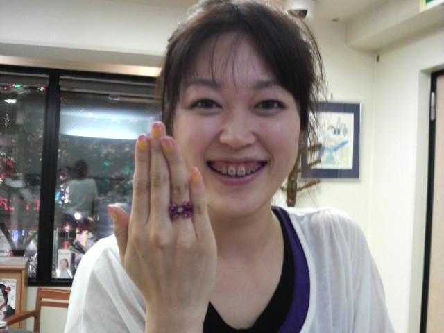 ともみちゃんの手作り指輪2