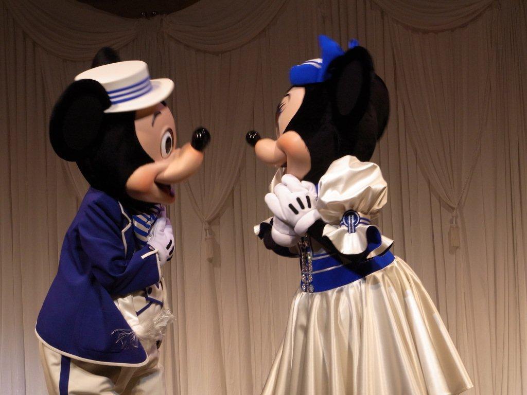ミッキー、ミニー