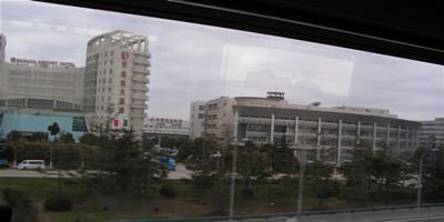 リニアモータカーからの風景