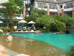 ウッドランド・リゾートのプール