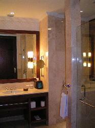 パトラバリ クラブスィートの洗面スペース