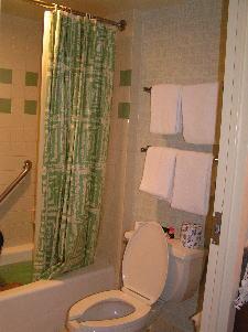 ディズニーワールド:ポップ・センチュリー・リゾート浴室