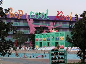 ディズニー・ワールド:ポップ・センチュリー50年代棟プール