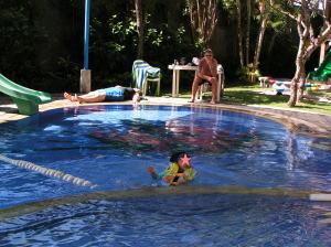 サヌール・パラダイス・スイート キッズクラブのプール