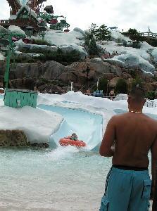 ブリザード・ビーチ スキー・パトロール・トレーニング・キャンプのスライダー