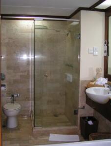 グランド・ミラージュのシャワールーム