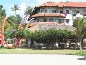 グランド・ミラージュのビーチに面したレストラン