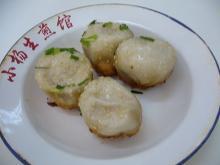 小楊生煎館の生煎(焼き小籠包)