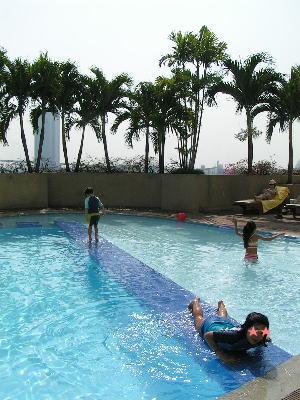 モンティエン・バンコク・リバーサイドの子供用プール