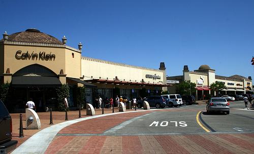 ロスのシタデルアウトレット店舗