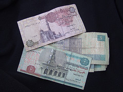 エジプトの紙幣