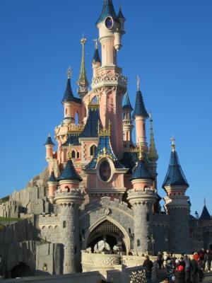 ディズニーランドパリの眠れる森の美女のお城