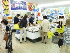 D川内鮮魚コーナー