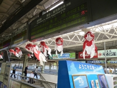 広島駅金魚
