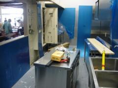 精肉作業室
