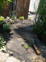 枕木の小路
