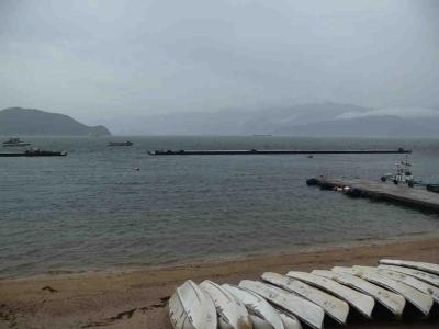 荒れた敦賀湾