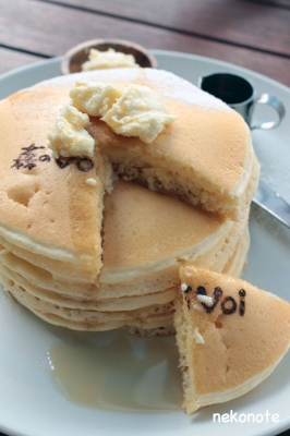 森のvoivoiのパンケーキ