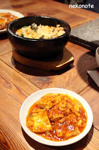 三清洞の料理