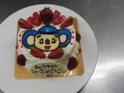 ドアラのイラストケーキ