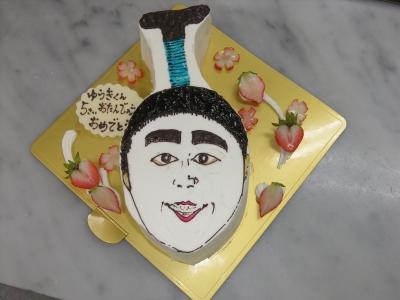 志村けんのバカ殿様のケーキ