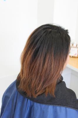 米子市美容室香草漢方カラー