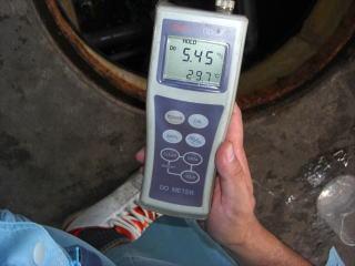 溶存酸素量計測