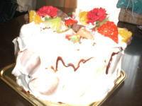 母の日でケーキ♪
