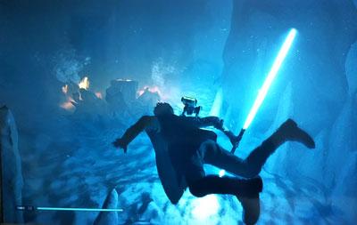 「STAR WARS ジェダイ:フォールン・オーダー」水中セーバー画像