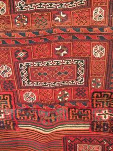 廊下の織物
