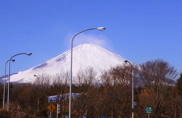 元旦の富士山