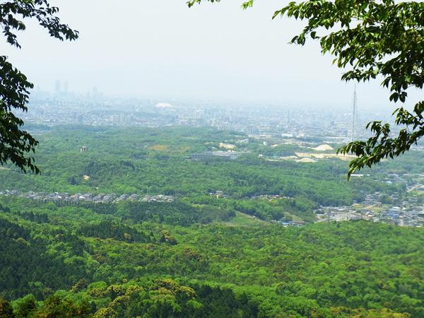 物見山より名古屋方面