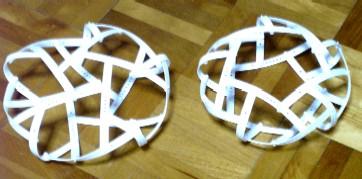 凧型10面体と五角反柱