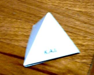 四面体組あがり