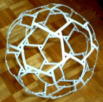 ベンデグリティのサッカーボール 切頂20面体