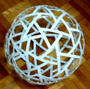 5方十二面体を調整した球