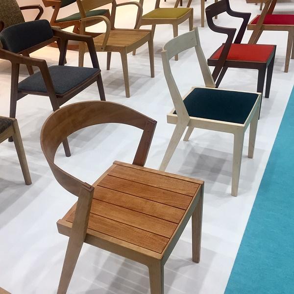 新作椅子発表会