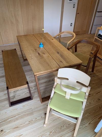 テーブル・ベンチ・チェアのお写真