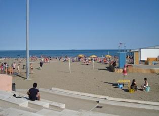 リドのフリービーチ