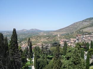 エステ荘からの眺め